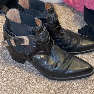 Western Style Steve Madden boots
